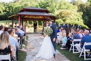 Ceremony at Dara's Garden